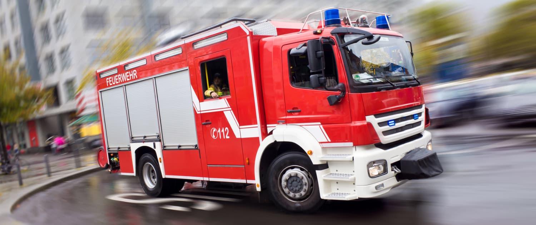 Amortisseurs renforcés de Marquart pour les pompiers