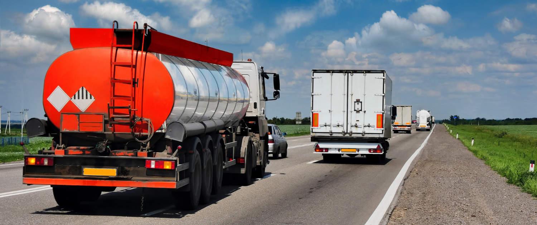 Amortisseurs renforcés de Marquart pour les camions citernes