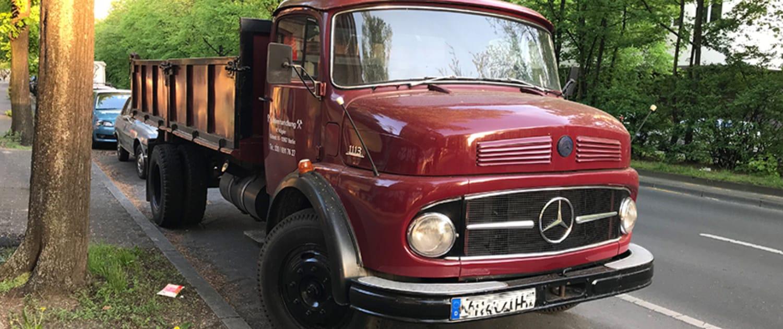 Amortisseurs renforcés de Marquart pour les camions historiques Mercedes