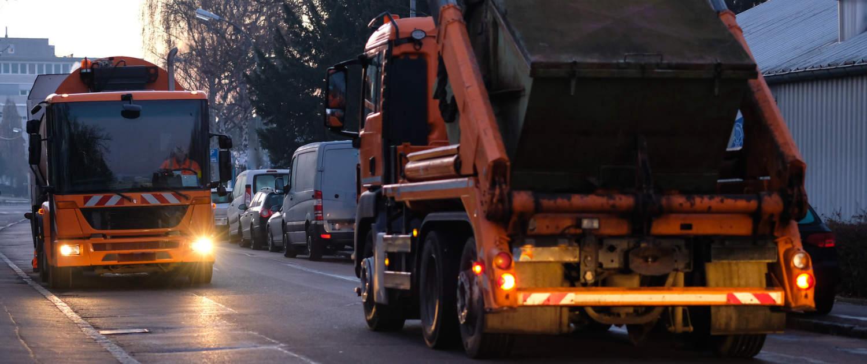 Amortisseurs renforcés de Marquart pour les véhicules de collecte des déchets