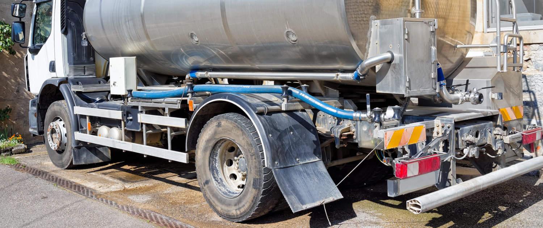 Amortisseurs renforcés de Marquart pour les transporteurs de lait
