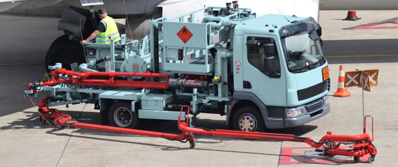 Amortisseurs renforcés de Marquart pour les véhicules de service des aéroports