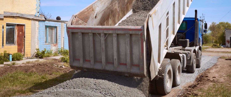 Amortisseurs renforcés de Marquart pour les camions à benne