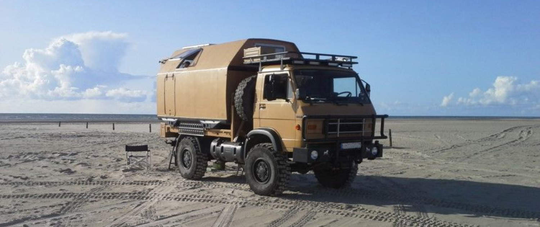 MAN G90 avec amortisseurs renforcés de Marquart
