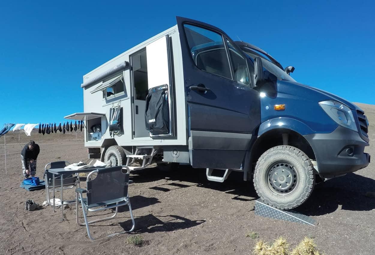 Amortisseurs renforcés pour le camping-car Sprinter