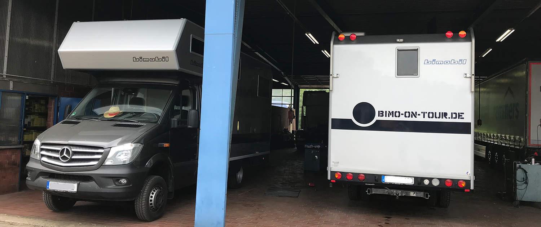Réglage de la suspension des camping-cars avec des amortisseurs renforcés de Marquart
