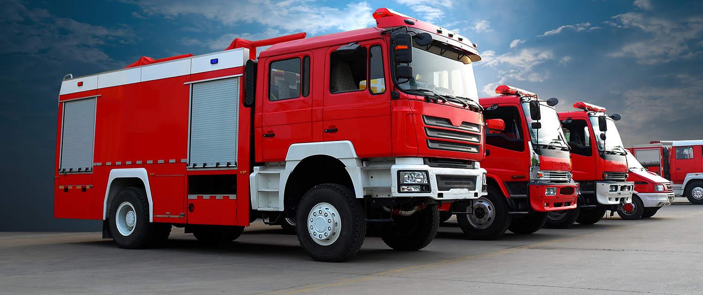 Amortisseurs renforcés pour les pompiers