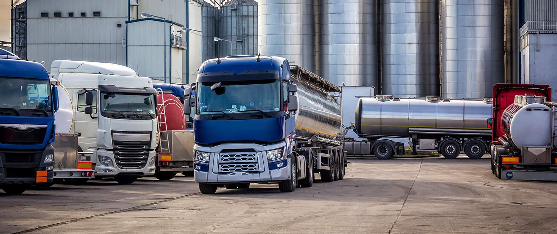 Amortisseurs renforcés pour les camions citernes
