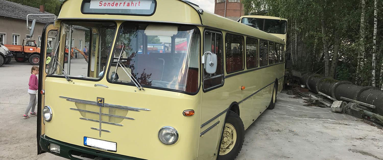 Des amortisseurs renforcés pour les bus historiques