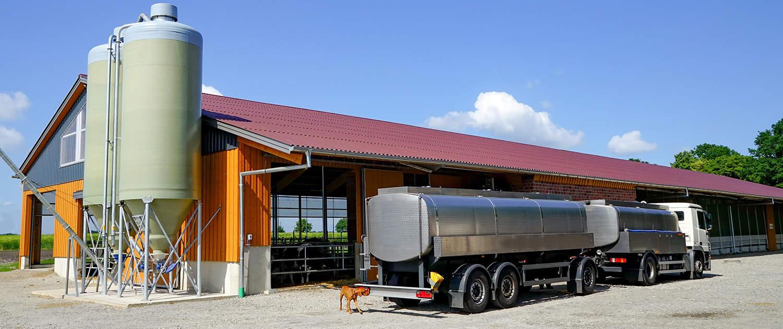 Amortisseurs renforcés pour les véhicules de collecte du lait