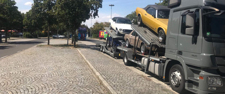 Amortisseurs renforcés pour les transporteurs de voitures