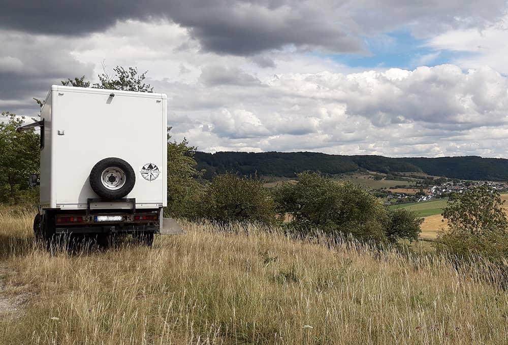 Des amortisseurs renforcés pour les camping-cars, même en dehors de la route